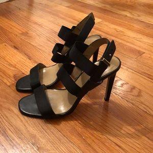 Ann Taylor Sexy Black Sandals
